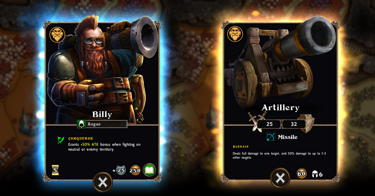 Artillery Billy vs Artillery Cannon