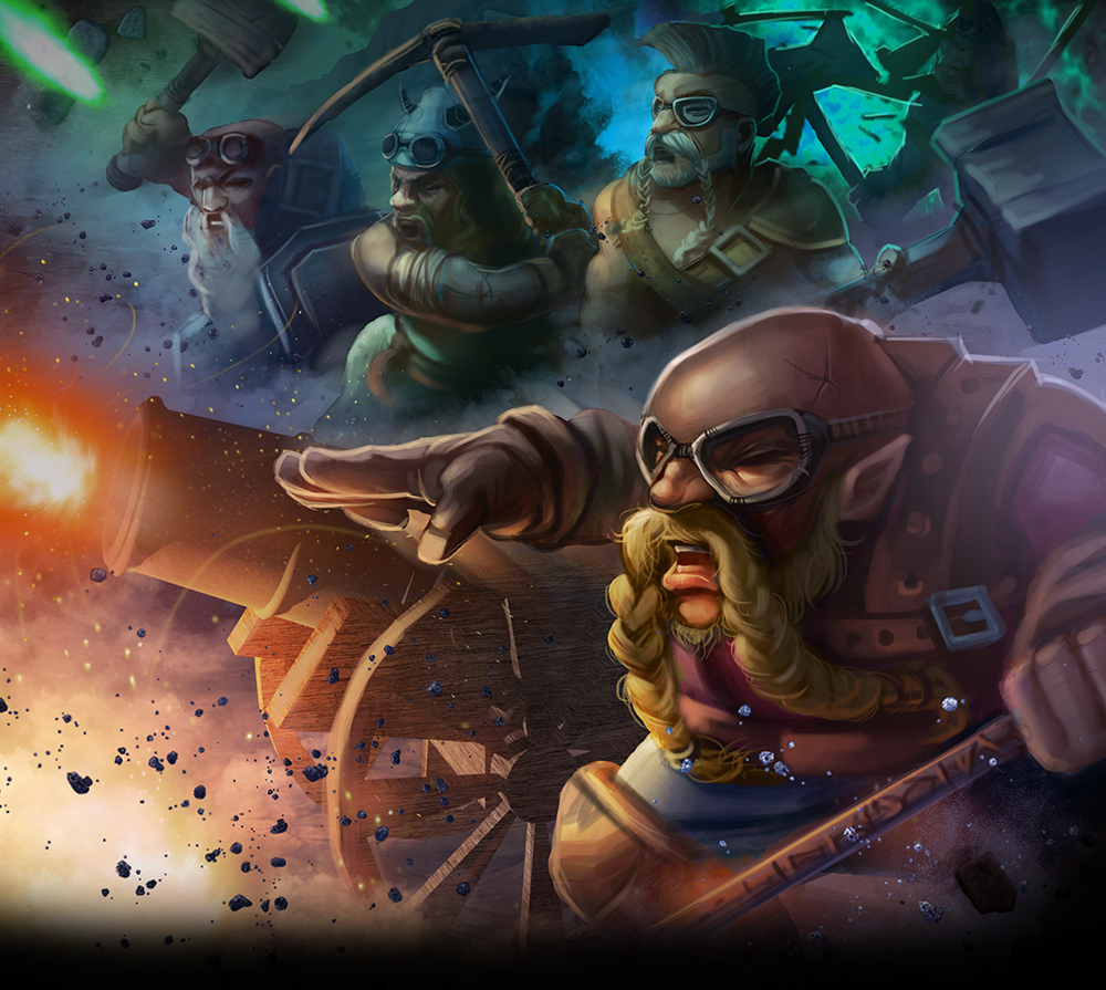 Dwarf Fury card art